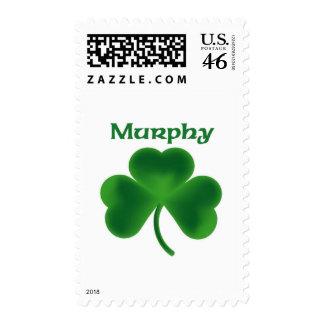 Murphy Shamrock Stamp