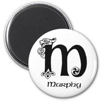 Murphy Surname 2 Inch Round Magnet