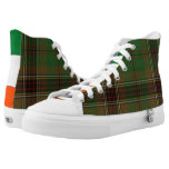 Murphy/Tara Tartan High-Top Sneakers