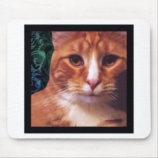 Murphy the Orange Tabby Cat Mouse Pad