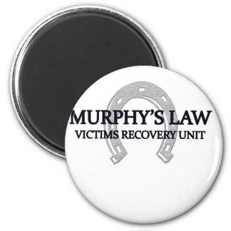 murphys law 2 inch round magnet