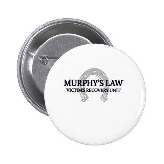 murphys law pinback button