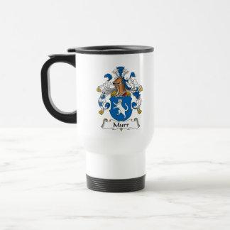 Murr Family Crest 15 Oz Stainless Steel Travel Mug