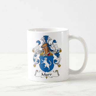 Murr Family Crest Classic White Coffee Mug