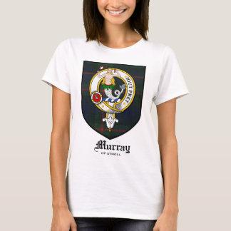 Murray Clan Crest Badge Tartan T-Shirt