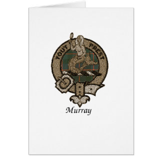 Murray Clan Crest Card