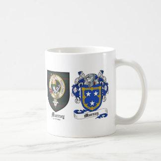 Murray Clan Crest & Murray Coat of Arms Coffee Mug