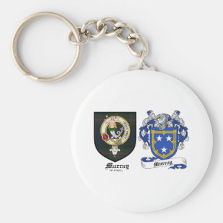 Murray Clan Crest & Murray Coat of Arms Keychain