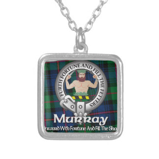 Murray Clan Silver Plated Necklace