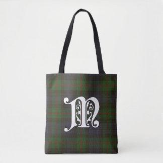 Murray Clan Tartan Monogram Tote Bag