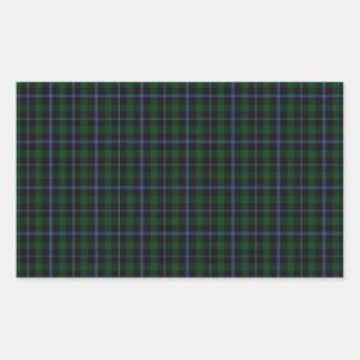 Murray Clan Tartan Rectangular Sticker