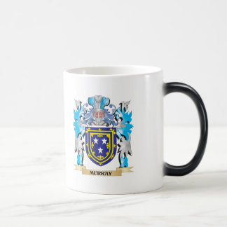 Murray Coat of Arms - Family Crest 11 Oz Magic Heat Color-Changing Coffee Mug