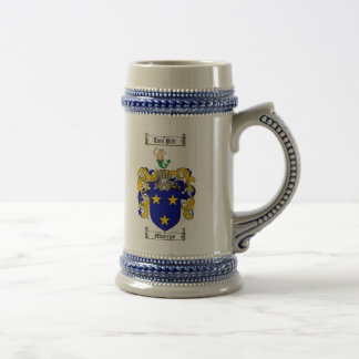 Murray Coat of Arms Stein 18 Oz Beer Stein