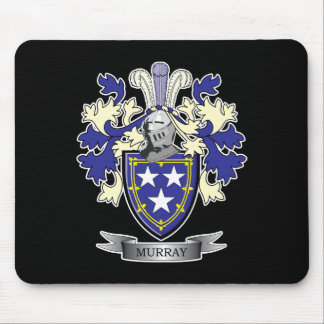 Murray Family Crest Coat of Arms Mouse Pad