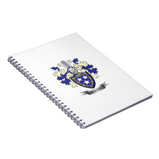 Murray Family Crest Coat of Arms Spiral Notebook
