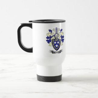 Murray Family Crest Coat of Arms Travel Mug