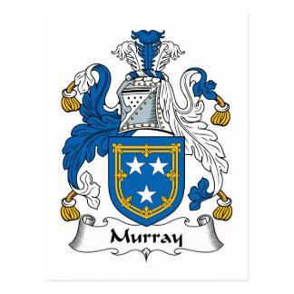 Murray Family Crest Postcard
