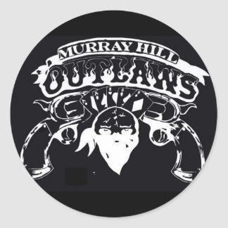 Murray Hill Outlaws Classic Round Sticker