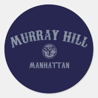 Murray Hill Classic Round Sticker