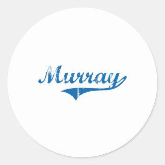 Murray Kentucky Classic Design Round Sticker