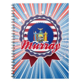 Murray, NY Spiral Notebook