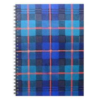 MURRAY of ATHOLE FAMILY TARTAN Spiral Note Book