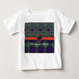 Murray of Atholl clan Plaid Scottish kilt tartan Baby T-Shirt