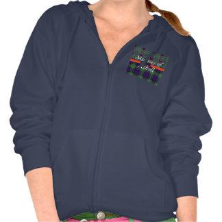 Murray of Atholl clan Plaid Scottish kilt tartan Hooded Sweatshirt
