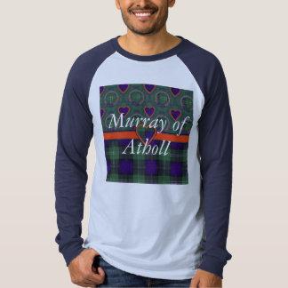 Murray of Atholl clan Plaid Scottish kilt tartan T-Shirt