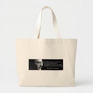 Murray Rothbard Tote Bag