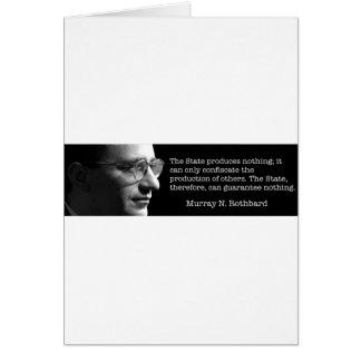 Murray Rothbard Card
