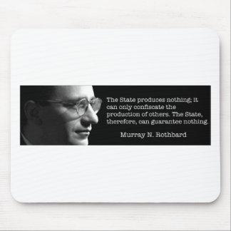 Murray Rothbard Mouse Pad