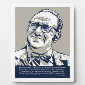 Murray Rothbard Placas De Plastico