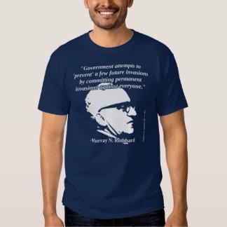 Murray Rothbard - protección del gobierno Remera