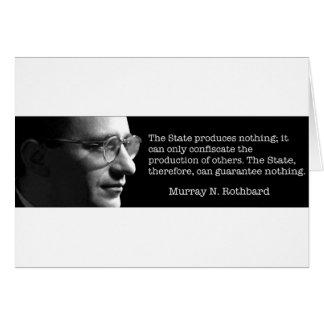 Murray Rothbard Felicitación