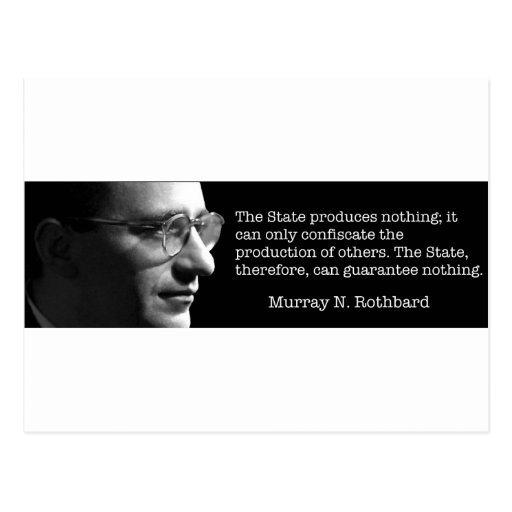 Murray Rothbard Tarjetas Postales