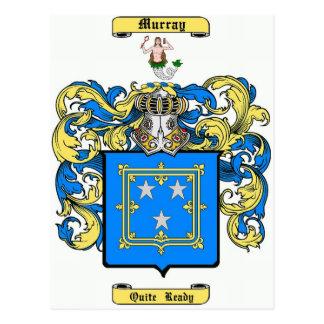 Murray (scotland) postcard