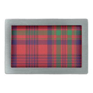 Murray Scottish Tartan Belt Buckle