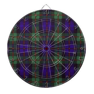 Murray Scottish Tartan Dart Board