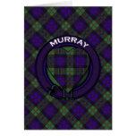 Murray Scottish Tartan Greeting Card