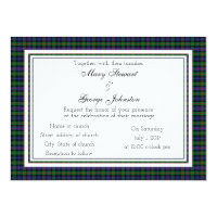 Murray Scottish Wedding Invitation