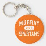 Murray - Spartans - High School - Murray Utah Key Chains