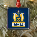 "Murray State Racers Metal Ornament<br><div class=""desc"">Check out these awesome Murray State University designs and products. These make perfect gifts for the Racer student,  fan,  faculty,  and alumni. All of these products are customizable from Zazzle!</div>"