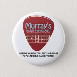 Murray Talent Conchords Pinback Button