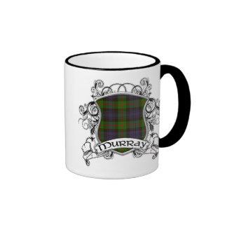 Murray Tartan Shield Ringer Coffee Mug