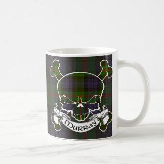 Murray Tartan Skull Mugs