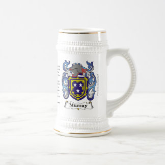 Murray, the Origin, the Meaning and the Crest 18 Oz Beer Stein