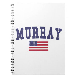 Murray US Flag Notebook