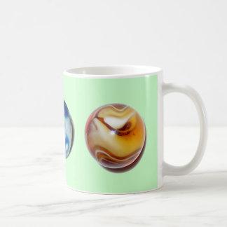 Murray's Marbles Classic White Coffee Mug