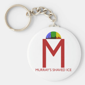 Murray's Shaved Ice Keychain